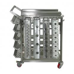 Wózek transportowy do głowicy i akcesoriów
